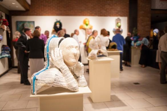 """Courage Unmasked"" exhibit"