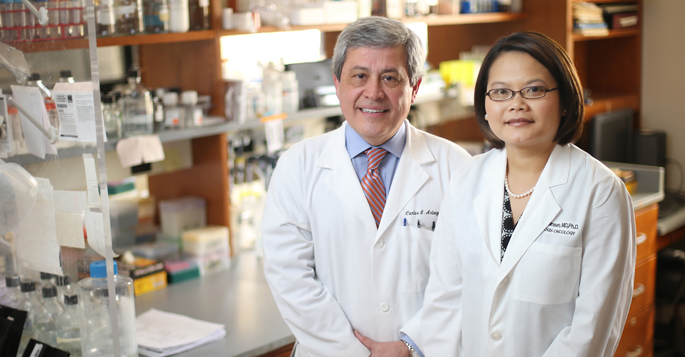 Valerie Jansen, M.D., Ph.D., and Carlos Arteaga, M.D.