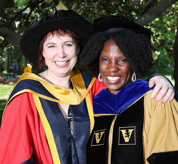 Andreia Bates and Barbara Fingleton, Ph.D.