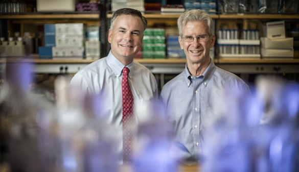 Christopher Williams, M.D., Ph.D., and Raymond Burk, M.D.