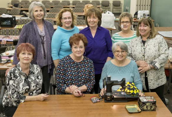 Sewing club group